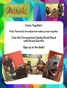 Cornerstone Music Conservatory - Family Band