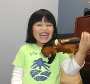 Cornerstone Music Conservatory - Happy Student
