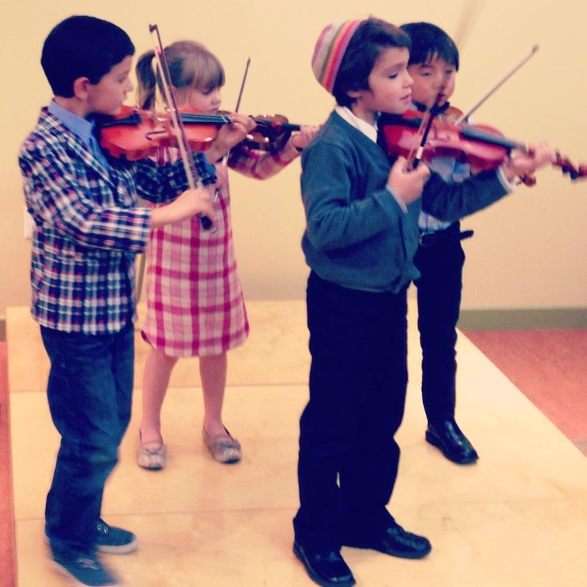 Suzuki Violin Program - Cornerstone Music Conservatory